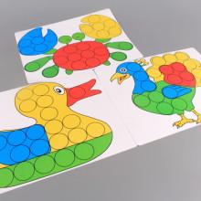 Мозайка с шаблони