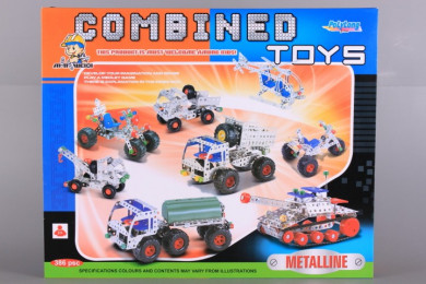 Метален конструктор-386 елемента
