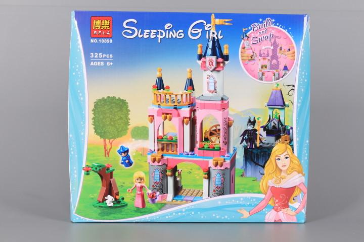 Конструктор Замък и принцеса-325 елемента