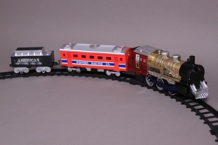 Влак пушещ и ЖП път-260 см