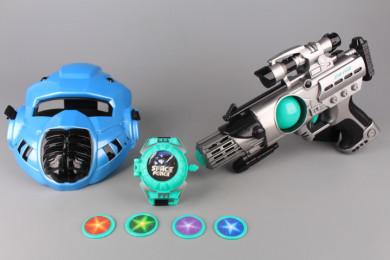 Комплект оръжия и маска