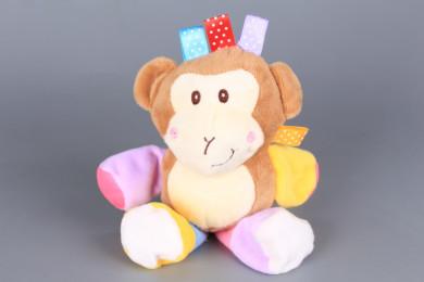 Плюшена маймунка за количка