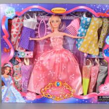 Кукла с 12 допълнителни рокли