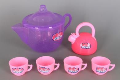 Чаен комплект в чайник