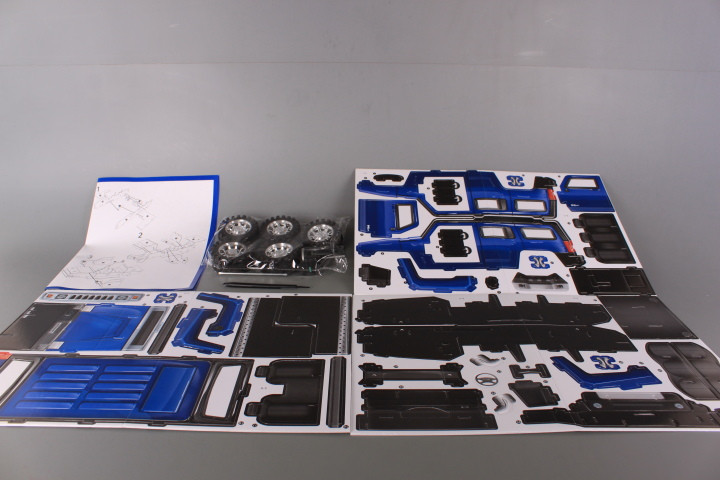 3D пъзел Джип инерционен-48 елемента