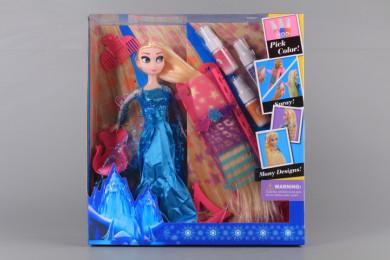 Кукла и студио за оцветяване на кичури