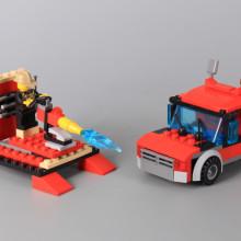 Конструктор Пожарни машини 3 в 1- 217 елемента