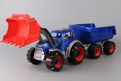 Трактор товарач Тексас с ремарке-63 см.
