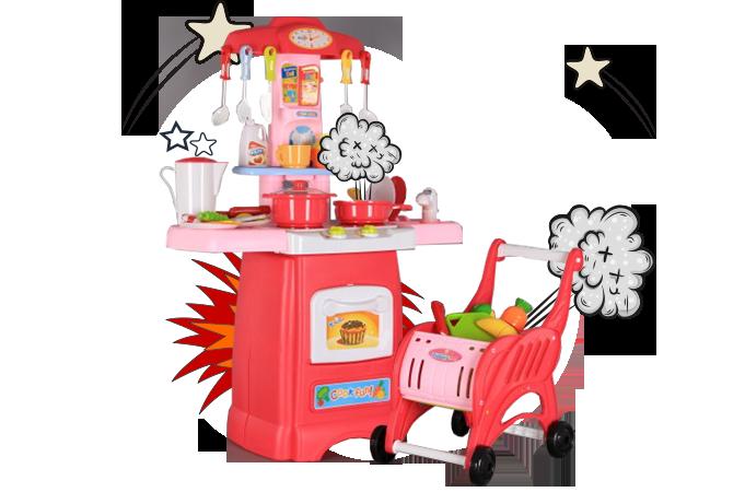 <h2>ИГРАЧКИ ЗА МОМИЧЕТА</h2>  <p>За малки помощнички в кухнята - комплекти за готвене, комплекти за почистване. И още: комплекти за красота, докторки комплекти, комплекти за пазаруване.</p>  <p></p>  <p>ЗАБАВЛЕНИЕ БЕЗ КРАЙ</p>  <p></p>